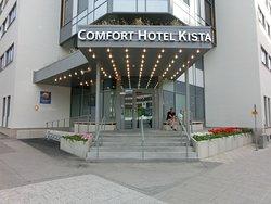 Hotellets entré.