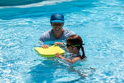 Using high-quality teaching aides like kickboards, flippers, etc. we prime students for swim team readiness.