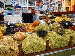 Market in the medina