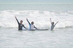 Woohoo we have great waves