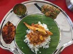 Fish Kolumbu, Fish Fry, Rasam