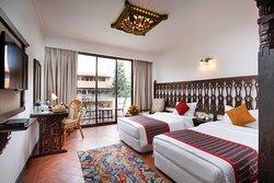 Twin Bed Room at Hotel Manaslu..