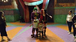 The Amazing Cast of The Joker Surprise Party a brilliantly performed show