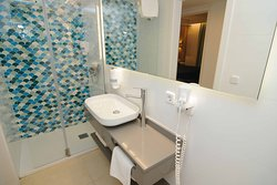 Our bathrooms offer powerful hot and cold showers along with plug access and hairdryers.