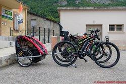 Les vélos prêts à partir