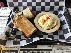 Turkey Club at The Lincoln Cafe, Stoystown, PA