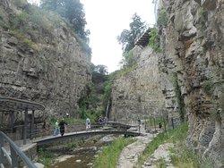 Dzveli Tbilisi Sulphur Waterfall