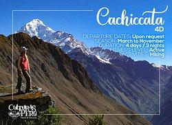 Toma esta aventura! 😎  ☉ Este itinerario te llevará a través de hermosos paisajes 🏞 rodeado de picos nevados y glaciares, por encima del valle sagrado de los incas. 🌞