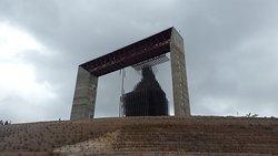 Vista llegando al Monumento