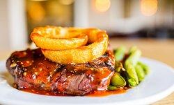 Rough cut steak
