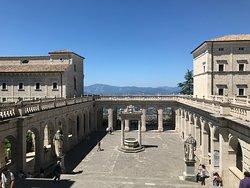 La Abadía de Montecassino (l'Abbazia di Montecassino)