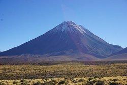 El volcano que se subi en 7 horas, de 4700m de altura hasta 5916m de altura. 2 dias de expedicion que nunca pueden olvider...!