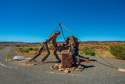 Statue to the fallen Miners/Workers