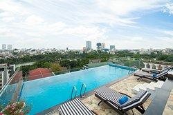 Swimming Pool at Premier Hotel Vang Vieng