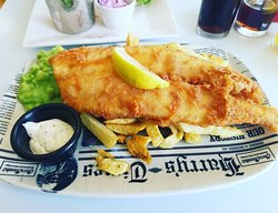 Great fish and chips on the coast!
