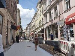 Ferhadija Pedestrian Street