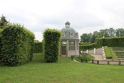 Рундальский дворец, парк