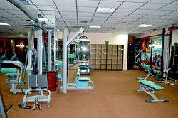 Фитнес центр на территории отеля