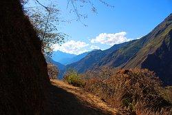 The trail to Choquequirao