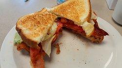 BLT - Bacon, Lettuce and Tomato sandwich