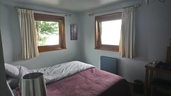 Bedroom in the Arenig apartment