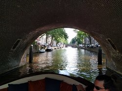 Canal bridges seen during our private canal cruise