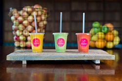 Delisious fresh juices and smoothies.