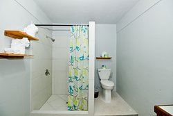 Angelfish private bathroom