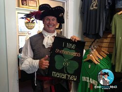 You don't have to be Irish to love the Irish Gift Shop - stop # 5 on the map!