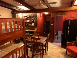 Two room family suite with bunkbed, sleeps 4 includes breakfast.  Free wifi, free port wine and nuts on table.