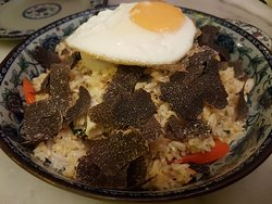 Truffle Nasi Goreng - not recommended since you don't really taste the truffles