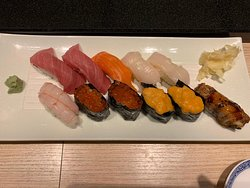 Fresh sushi 🍣 raw fish 🐠 no oil great vitamins