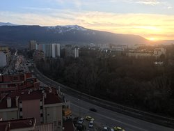 Vitosha mountain view
