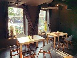 Window side tables