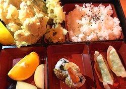 Tempura bento lunch box