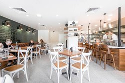 Ernies Kitchen is an open plan cafe/restaurant bringing the chefs into your dining experience.