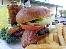 Sometimes you just want a burger! We have those too, come try our Thayer Burger Deluxe