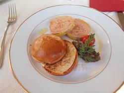 Foie gras et sa brioche