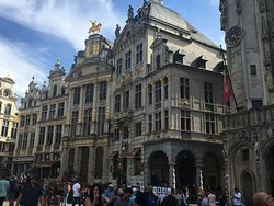 Guild Houses at Grand Place in Brussels