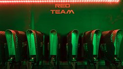 Quasar Laser Tag at Bray Bowl Entertainment - UV lit arena with two teams going head to head (Red & Green). 30 gun system with state of the art arena. Shoot your opponent and opponent's team base to accumulate points. Games last between 10 & 20 minutes depending on the offer you go with. Min height requirement; 1.2 metres (7 years +)  Quasar Laser Tag - Serious fun with a laser gun!