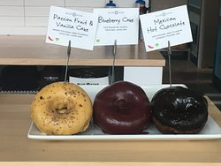 Just some of the amazing donuts at Blue Star!