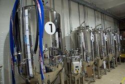 Fermentation tanks!