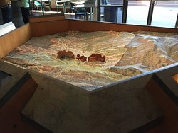 #-D Model in the Visitor Center