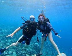 Terrific diving locations.