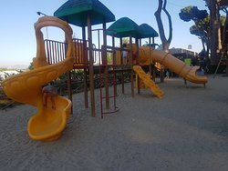 Playground is an excellent facility for the little ones.Evening is the best time
