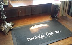 McGintys Traditional Irish Bar, You can taste the quality.