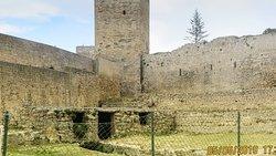 L'interno del Castello di Lombardi ad Enna