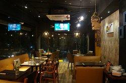 A nice neighborhood cafe