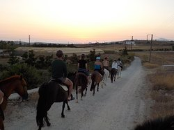 When we say the sunrise tour , it is the SUNRISE tour. Enjoy the time of the day that it is not to hot , then have the longest day of your trip to Greece.