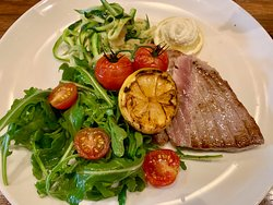 Tuna ( Sashimi Quality), Zoodles, Fun!